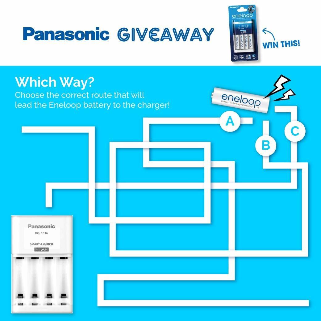 Photo of Panasonic Giveaway