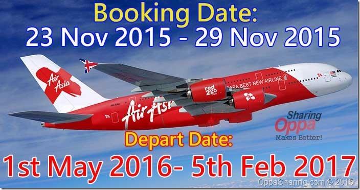 airasia nov2015 free seat
