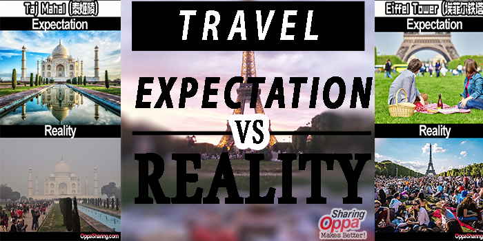 Photo of 旅游Expectation Vs Reality