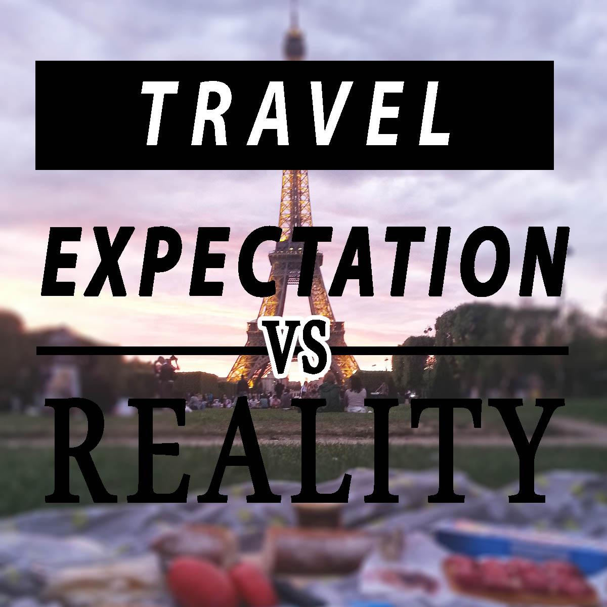 expecatation vs reality