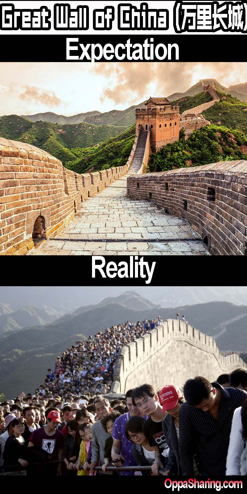 great wall of china e v r