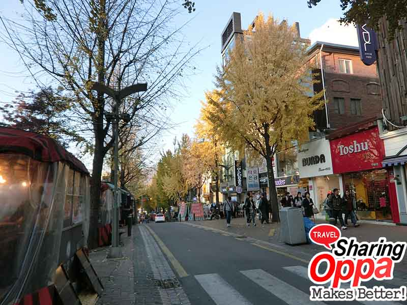ewha university street