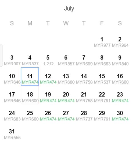 july promo price