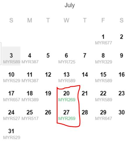 july 269 offer
