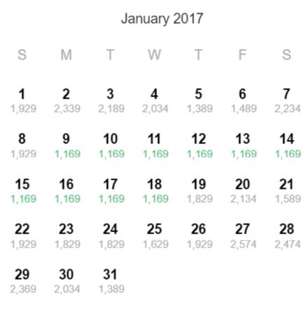 tokyo jan 2017