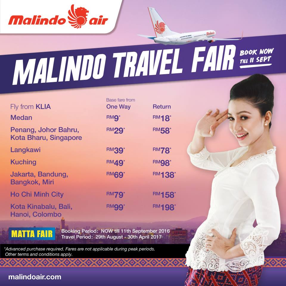 malindo travel fair