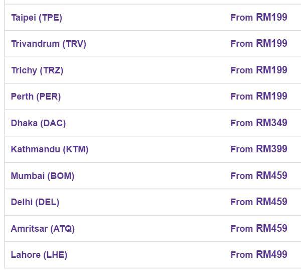 travel fair list2