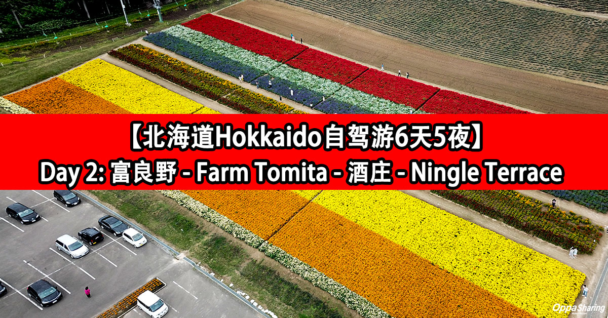 Photo of 【北海道Hokkaido自驾游6天5夜】Day 2: 富良野 – Tomita Farm – 酒庄 – Ningle Terrace