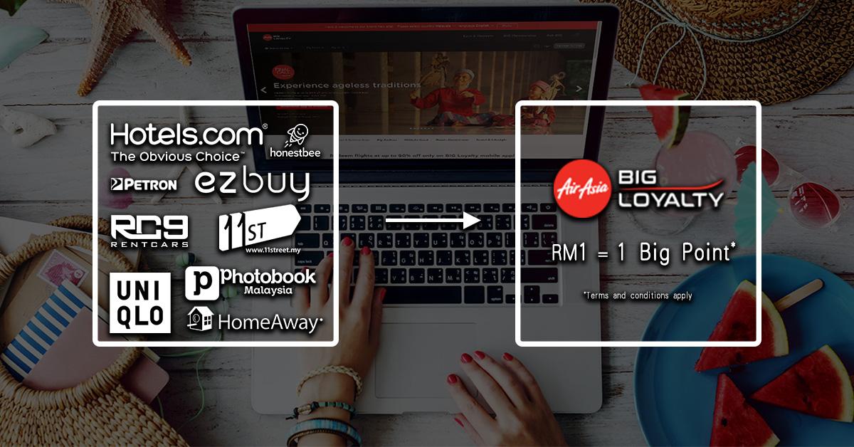 Photo of 把网络消费统统变成BIG Points!!AirAsia BIG eStore正式开始!
