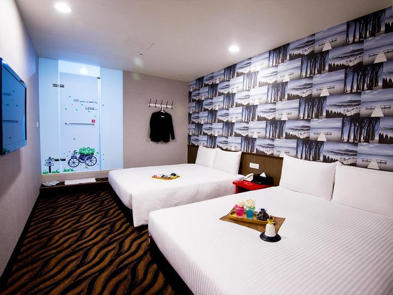 Taipei 4 oppa sharing for Design hotel ximen zhonghua