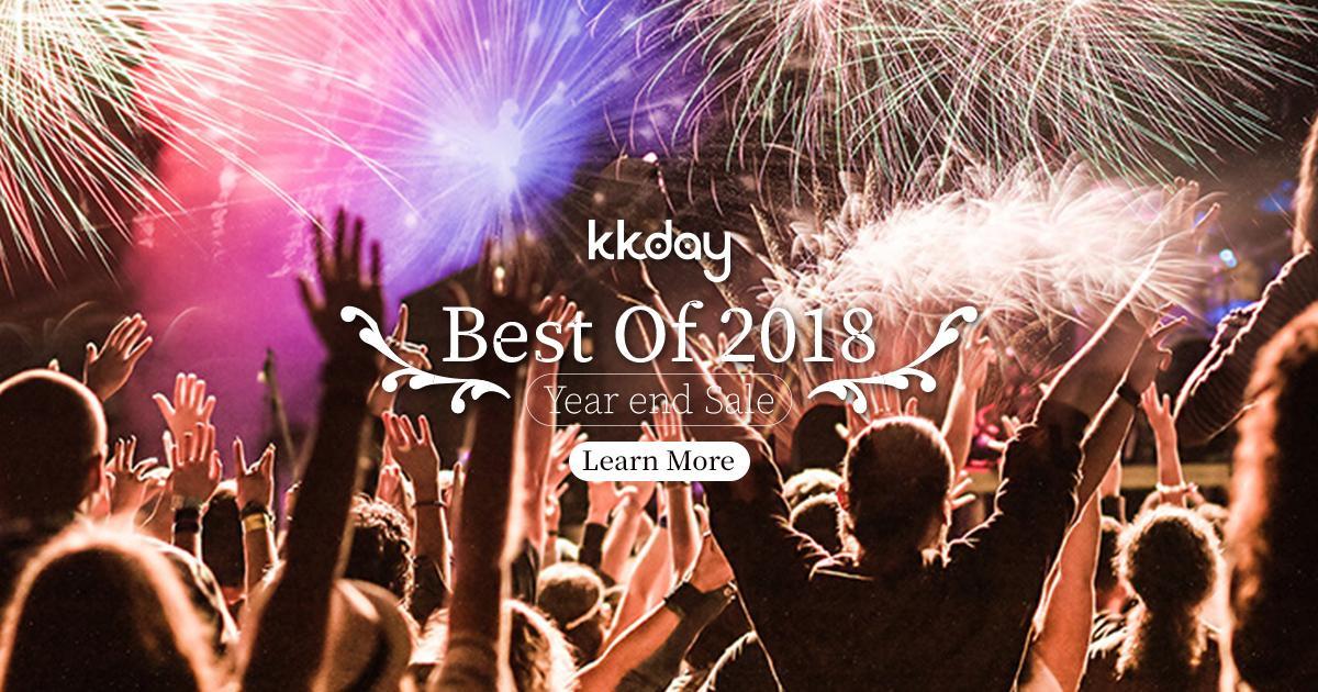 Photo of BEST of 2018: KKday年终终极促销!买一送一!1USD行程!