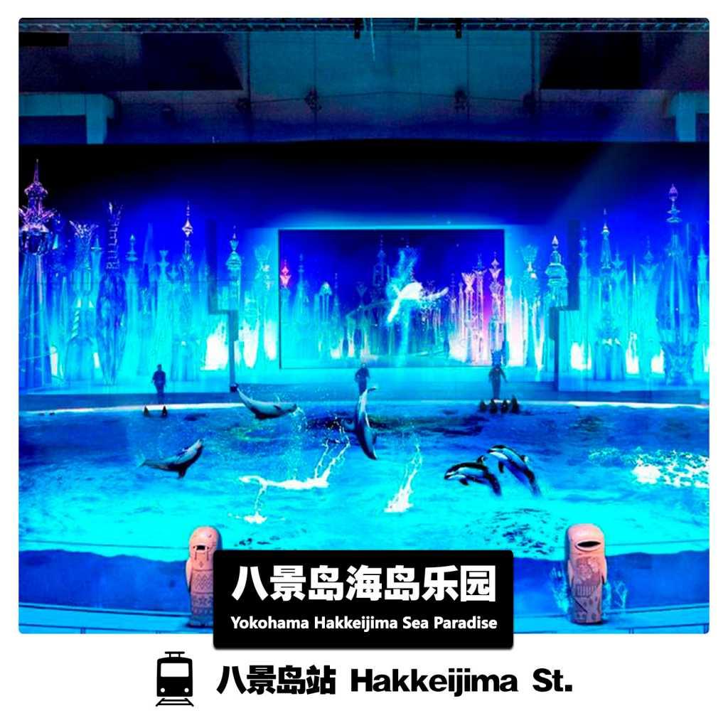 Yokohama Hakkeijima Sea Paradise横滨八景岛海岛乐园