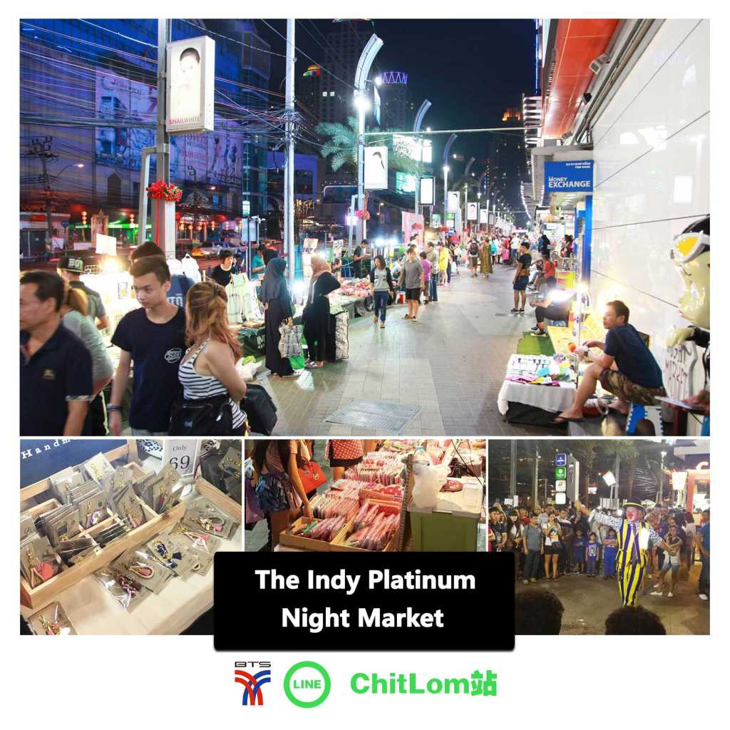 The Indy Platinum Night Market