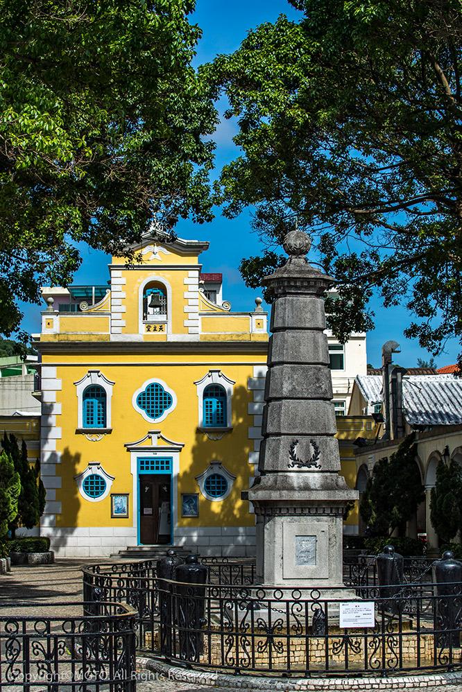 Chapel of St. Francis Xavier in Coloane Village 路环圣方济各圣堂