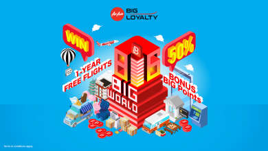 Photo of 【816 BIG World】赢取AirAsia亚航1年免费机票!