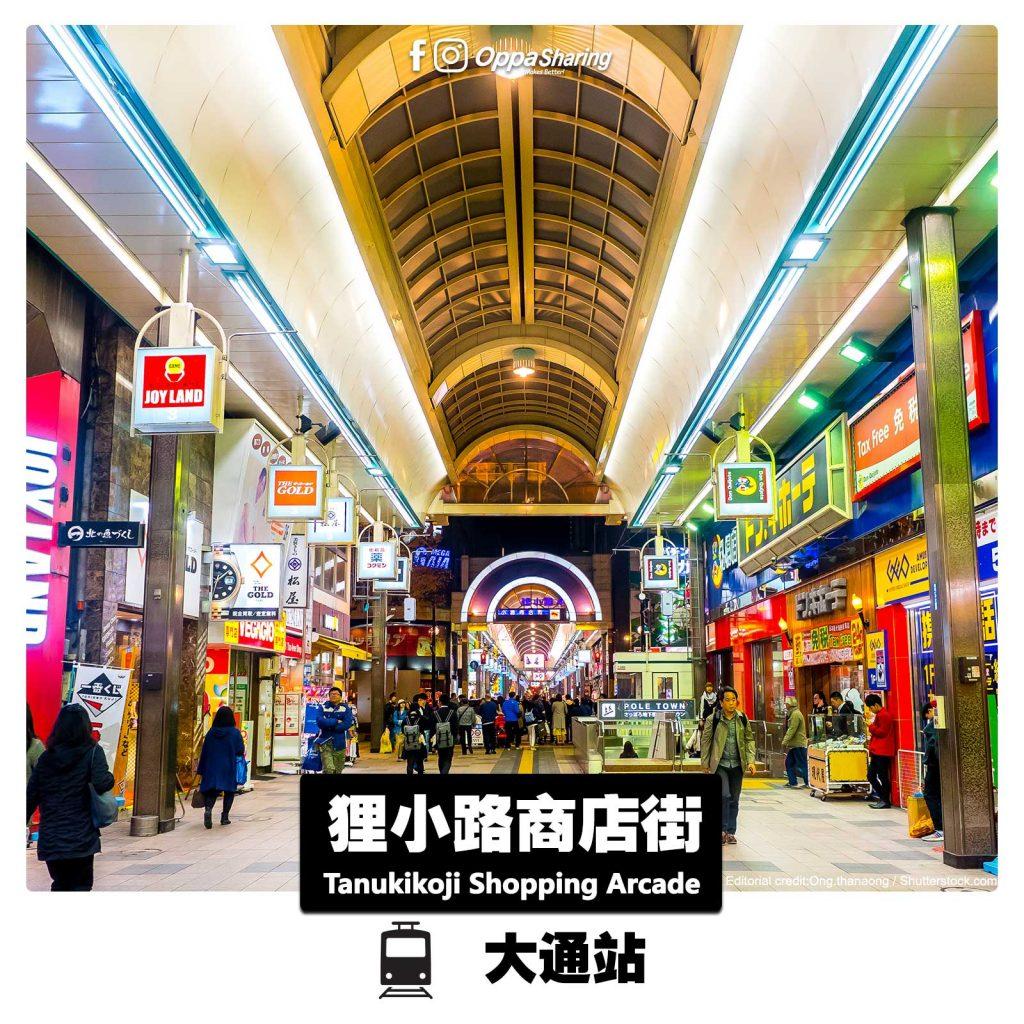 狸小路商店街 Tanukikoji Shopping Arcade
