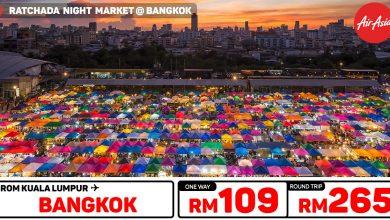 Photo of 【#时间表】吉隆坡KUL — 曼谷Bangkok 单程RM109 来回RM265 [Exp: 27 Oct 2019]