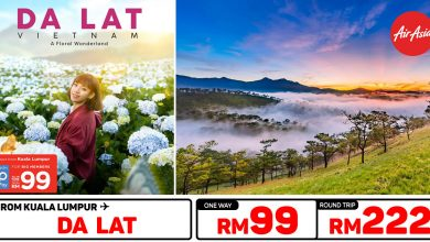 Photo of 【AirAsia新路线】吉隆坡KUL — 越南大叻Da Lat 单程RM99 来回RM222 [Exp: 29 Sep 2019]