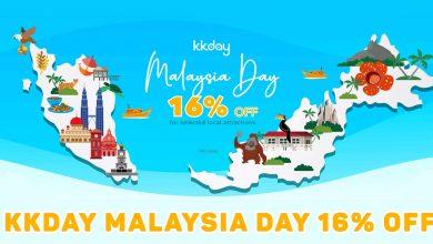 Photo of KKday 马来西亚日Malaysia Day精选产品16%折扣