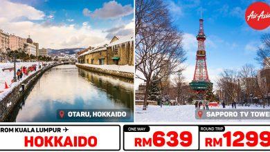 Photo of 【#时间表】吉隆坡KUL — 北海道Hokkaido 单程RM639 来回RM1299![Exp: 27 Oct 2019]