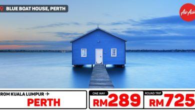 Photo of 【#时间表】吉隆坡KUL — 柏斯Perth 单程RM289 来回RM725![Exp: 10 Nov 2019]