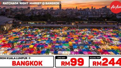 Photo of 【#时间表】吉隆坡KUL — 曼谷Bangkok 单程RM99 来回RM244![Exp: 10 Nov 2019]