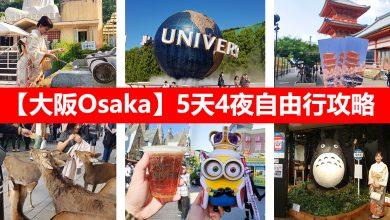 Photo of 【大阪Osaka自由行】5天4夜攻略!环球影城+京都+奈良 #带妈妈出国记