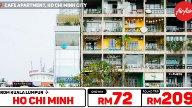 Photo of 【#时间表】吉隆坡KUL — 胡志明Ho Chi Minh 单程RM72 来回RM209 [Exp: 16 Feb 2020]