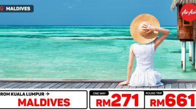 Photo of 【#时间表】吉隆坡KUL — 马尔代夫Maldives 单程RM271 来回RM661 [Exp: 23 Feb 2020]