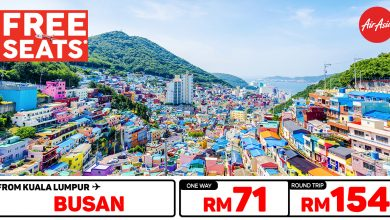 Photo of 【#时间表】吉隆坡KUL — 釜山Busan 单程RM71 来回RM154 [Exp: 26 Feb 2020]
