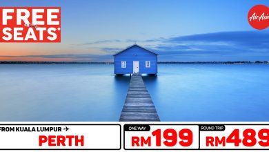 Photo of 【#时间表】吉隆坡KUL — 柏斯Perth 单程RM199 来回RM489 [Exp: 26 Feb 2020]