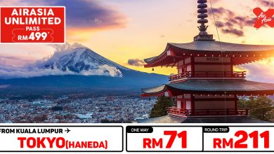 Photo of 【#时间表】UNLIMITED PASS 吉隆坡KUL — 东京Tokyo(Haneda) 单程RM71 来回RM211