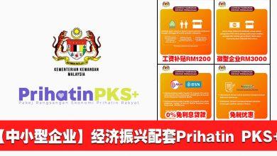Photo of 【中小型企业】经济振兴配套Prihatin PKS+