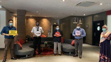 Photo of Ormond集团与亚航AirAisa向吉隆坡中央医院抗疫前线人员致谢!提供免费住宿和免费机票!