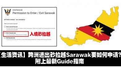 Photo of 【生活资讯】跨洲进出砂拉越Sarawak要如何申请?附上最新指南
