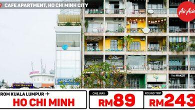 Photo of 【#时间表】吉隆坡KUL — 胡志明Ho Chi Minh City 单程RM89 来回RM243 #AirAsiaBIGSALE