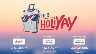 Photo of Hong Leong Bank Credit/Debit卡 专属优惠!AirAsia机票高达70%折扣!