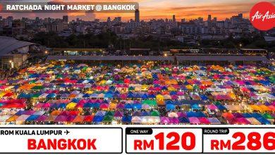 Photo of 【#时间表】吉隆坡KUL — 曼谷Bangkok 单程RM120 来回RM286 [Exp: 23 Nov 2019]