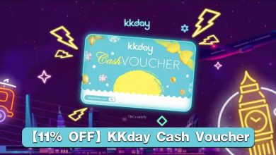 Photo of 【11% 折扣】KKday Cash Voucher 电子现金礼券!