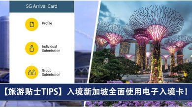 Photo of 【旅游贴士TIPS】从2020年起,入境新加坡全面使用电子入境卡!Electronic SG Arrival Card!#附上教程