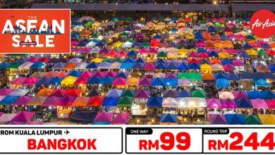 Photo of 【#时间表】吉隆坡KUL — 曼谷Bangkok 单程RM99 来回RM244 [Exp: 1 Mar 2020]