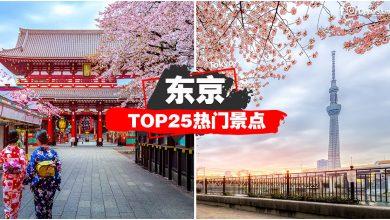 Photo of 【东京Top25热门景点】一次过告诉你TOKYO「吃喝玩乐」景点 #新手笔记