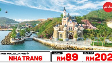Photo of 【#时间表】吉隆坡KUL — 芽庄Nha Trang 单程RM89 来回RM202 [Exp: 27 Feb 2020]