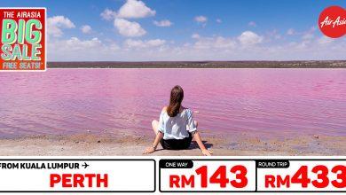 Photo of 【#时间表】吉隆坡KUL — 柏斯Perth 单程RM143 来回RM433