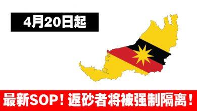 Photo of 【最新消息】4月20日起,从西马,沙巴&Labuan 返回Sarawak将被强制隔离!