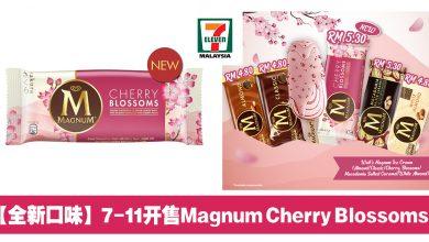 Photo of 【全新口味】7-Eleven即日起开售Magnum Cherry Blossoms冰淇淋!只需RM5.30!