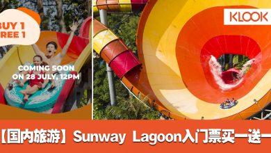 Photo of 【国内促销】Sunway Lagoon主题乐园入门票买一送一!